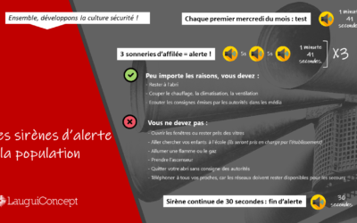 alerte et d'information aux populations (SAIP)