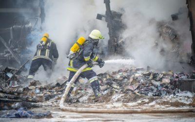 L'incendie sur le lieu de travail