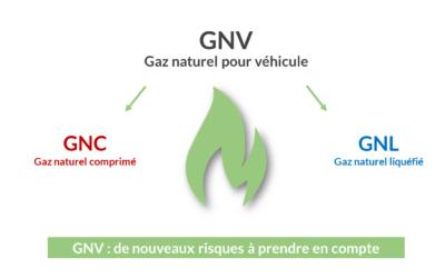 Les gaz naturels pour véhicules (GNV) : de nouveaux risques à prendre en compte